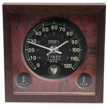 Classic Car Speedometer Clock - Bristol