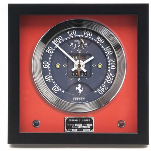 Classic Car Speedometer Clock Ferrari