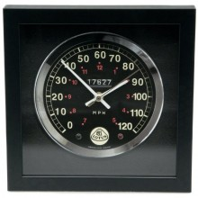 Classic Car Speedometer Clock - Lotus