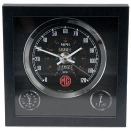 Classic Car Speedometer Clock - MG