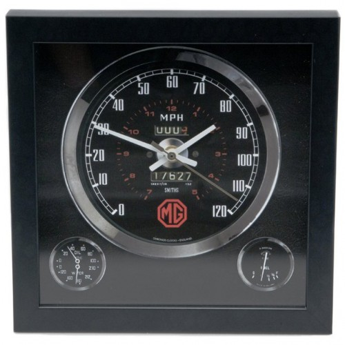 Classic Car Speedometer Clock - MG image #1