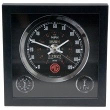 Classic Car Speedometer Clock - MG