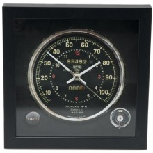 Classic Car Speedometer Clock - Morgan
