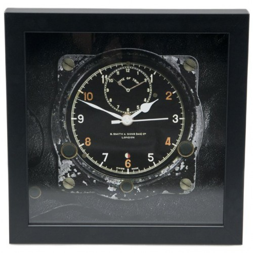 Classic Car Speedometer Clock - Smiths Aircraft/Rally image #1
