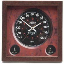 Classic Car Speedometer Clock - Jaguar