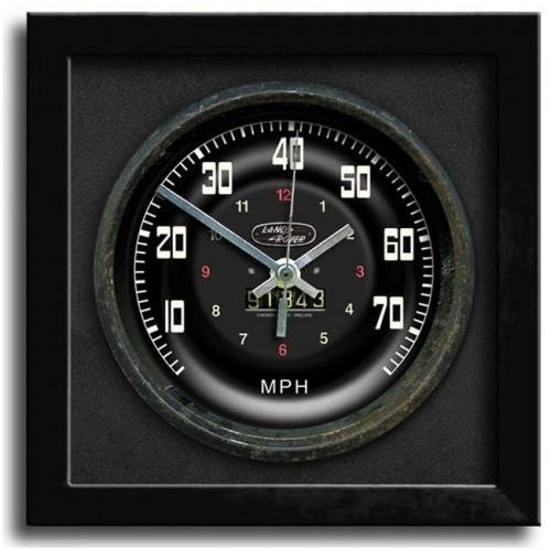 Classic Car Speedometer Clock - Land Rover image #1