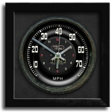 Classic Car Speedometer Clock - Land Rover