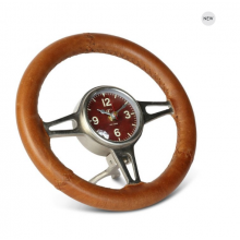 Hawthorn Steering Wheel Desk Clock