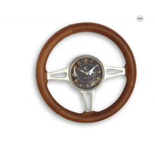 Hawthorn Steering Wheel Wall Clock