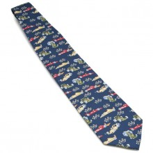 Tie - Colourful Racing Cars