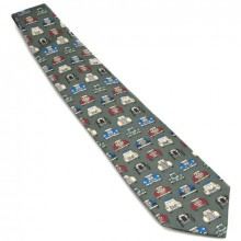 Silk Tie - Vintage & Classic Car Fronts
