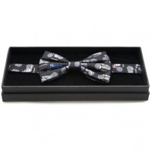 Silk Bow Tie - British Motorbikes