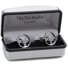 Cuff Links - Steering Wheel