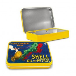 Shell Chariot Keepsake Tin