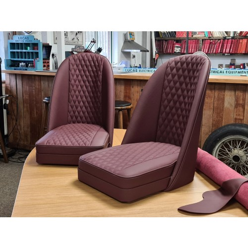 Sports Bucket Seat With Quilted Leather image #3