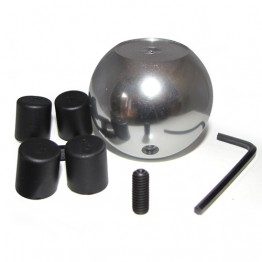 Ball Style Alloy Gear Lever Knob - Flat Top