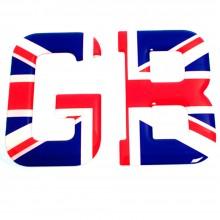 Union Flag Stick on GB Letters