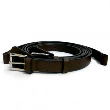 Retro Classic Brown Leather Luggage Straps