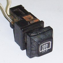 Heated Rear Window Switch Lucas 30999
