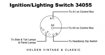 PLC Type Ignition & Lighting Switch