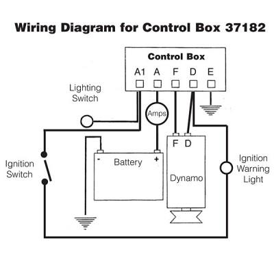 Dynamo Regulator Control Box Type RB106 - Screw Terminals