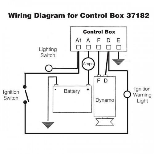 dynamo regulator control box type rb106