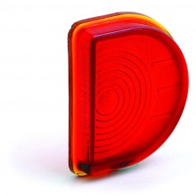 Lucas ST51 Type Rear Lamp Glass Lens Only