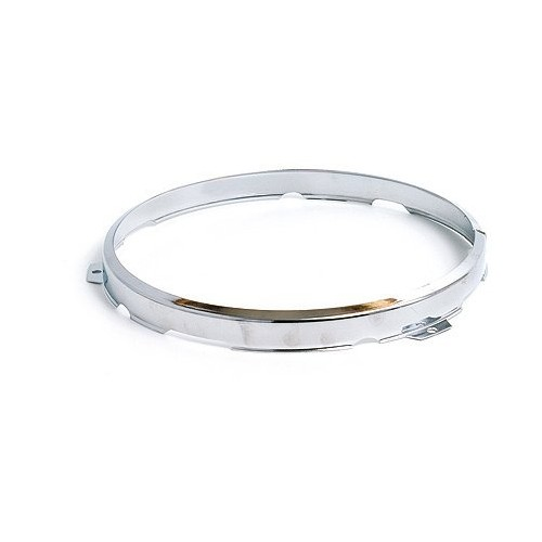 7 in Headlamp 2-Adjuster Retaining Rim - Chromed 54521913 image #1