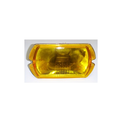 Lucas Square 8 Spot Lamp LR8 Light Unit Only - Amber image #1