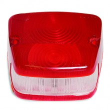 Lucas L708 Type Rear Lamp Lens Only - Red