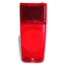 Lucas L572 Type Lamp Lens Only - Red
