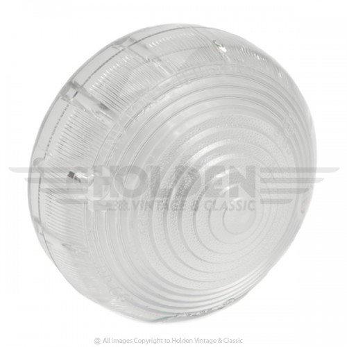 Lucas L691 Type Lamp Lens Only - Clear image #1