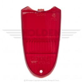 Lucas L729 Type Rear Lamp Lens Only - Red