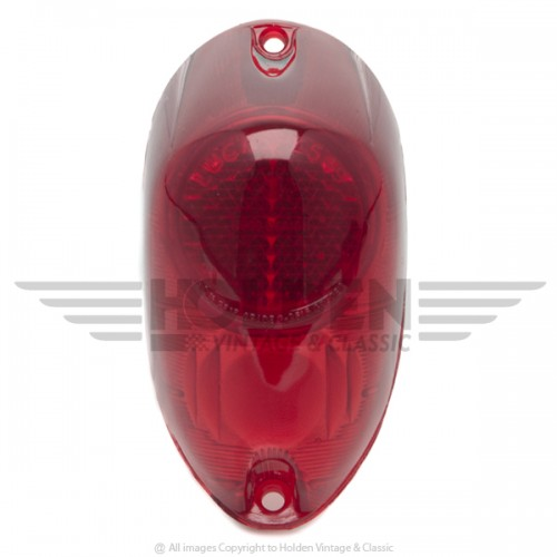 Lucas L549 Type Rear Lamp Lens Only - Red image #1