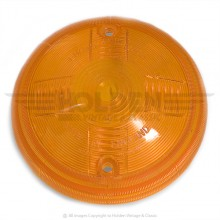 Lucas L556 Type Lamp Lens Only - Amber