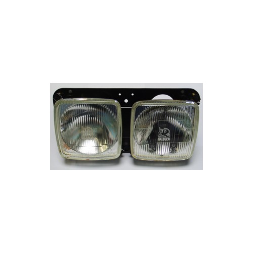 Twin Square Headlamp Set - Vauxhall VX2300 image #1