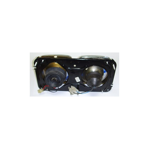 Twin Square Headlamp Set - Vauxhall VX2300 image #2