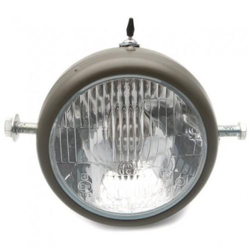 5 1/2 in Lucas Original Headlamp Side Mounting image #1