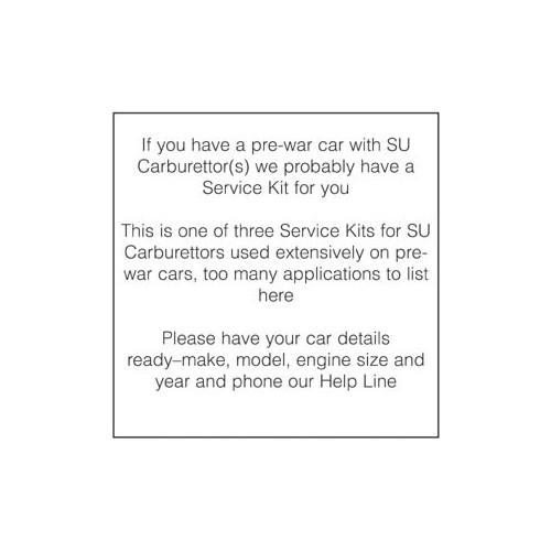Service Kit for D5  H4  H6  HV4  HV5 image #1