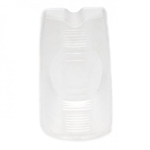 Lucas L548 Type Rear Lamp Lower Lens - Clear image #1