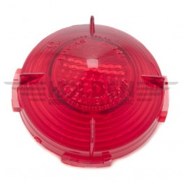 Lucas L551 Lamp Red Lens & Reflector Only