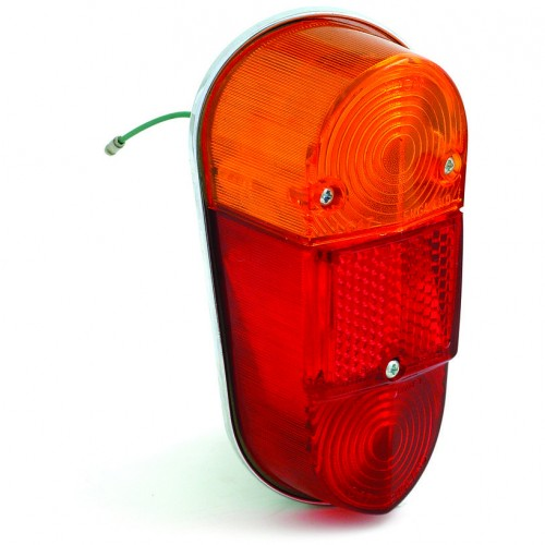Lucas L647 Type Rear Lamp - Mini and MGA LH image #1