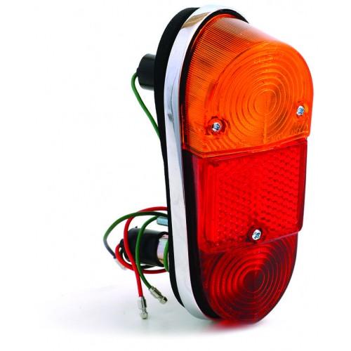 Lucas L647 Type Rear Lamp - Mini and MGA RH image #1