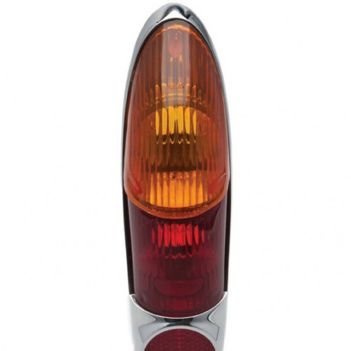 Lucas L701 Type Lamp Lens Only - Amber image #1