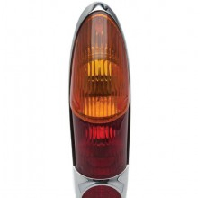 Lucas L701 Type Lamp Lens Only - Amber