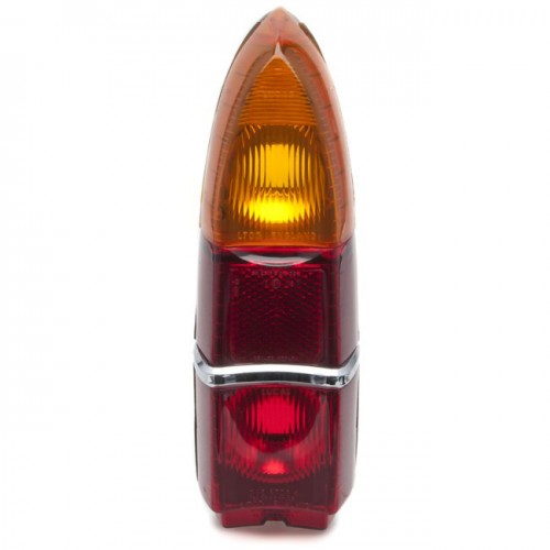 Lucas L703 Type Rear Lamp Lens Only - Red image #1