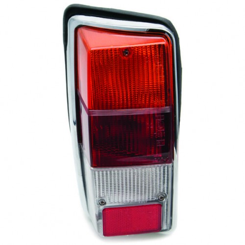 Lucas L940 Type Rear Lamp Clear Lens Only - Left Hand image #1