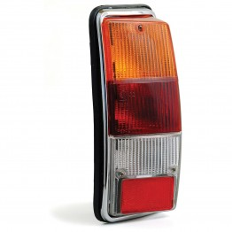 Lucas L940 Type Rear Lamp Clear Lens Only - Right Hand