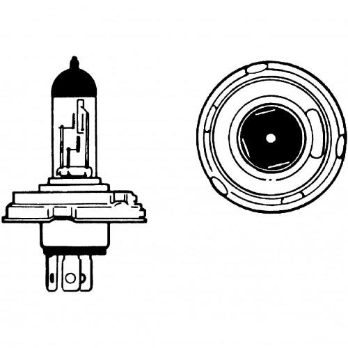 12v Halogen Bulb for UEC Headlamps 60/65w LLB012 image #1