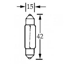 Bulb Festoon 6v 18w  LLB1061